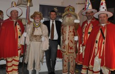 Sartori porta a Milano l'antica maschera veronese del Papà del Gnoco