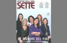 Le signore del vino conquistano la copertina di Sette