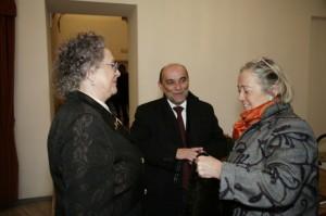 Francesca, Donatella e il sindaco Buffi
