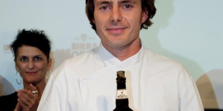Lo chef Giuliano Baldessari vince il Premio Birra Moretti Grand Cru