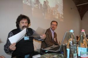 Mario Pojer con Zanichelli