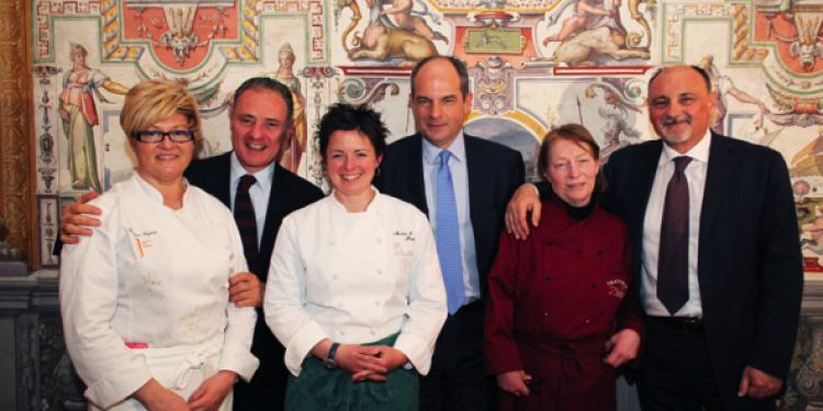 Tre chef donna per la partnership tra Cecchi e Castiglion del Bosco