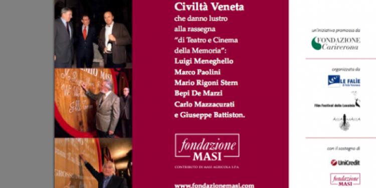 Al Teatro Ristori di Verona con la Fondazione Masi