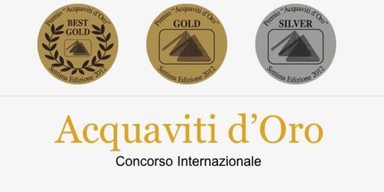 Le 79 medaglie del premio Acquaviti d'Oro 2012