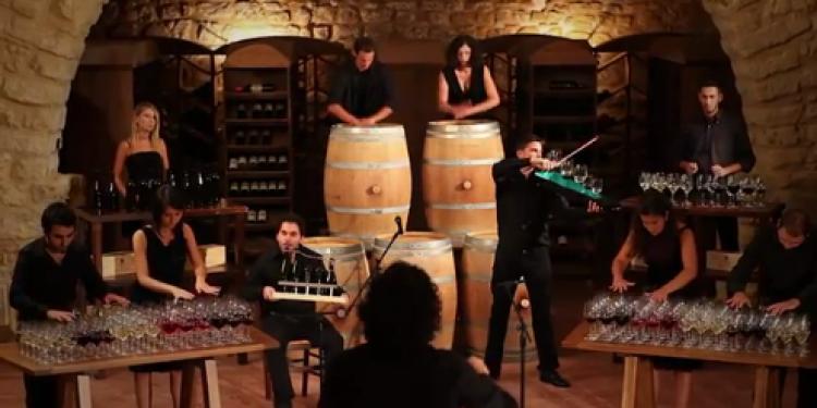 The sound of wine, sinfonia di botti e bicchieri per Tasca d'Almerita