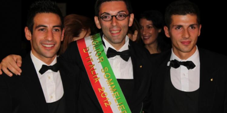 Gennaro Buono è il Miglior sommelier d'Italia Aspi 2012