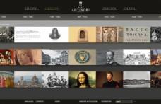 Il mondo Antinori in un nuovo sito web