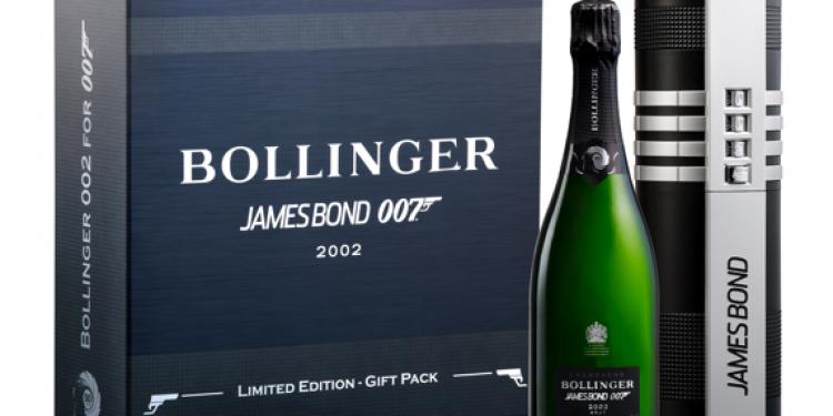 Bollinger 002 for 007: lo Champagne dedicato a James Bond