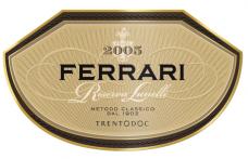 I Vini del 2013: Ferrari stupisce con Riserva Lunelli 2005
