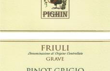 I Vini del 2013: Pighin presenta Pinot grigio Friuli Grave 2012