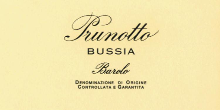 I Vini del 2013: Prunotto sceglie Barolo Bussia 2008