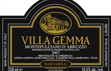 I Vini del 2013: Masciarelli affascina con il Montepulciano Villa Gemma 2006