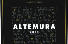I Vini del 2013: Masseria Altemura propone Altemura Primitivo 2010