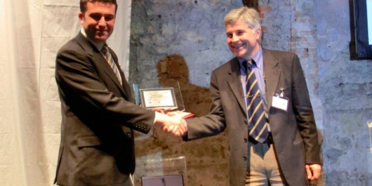 Il giovane enologo Torchio vince il Premio Gambelli