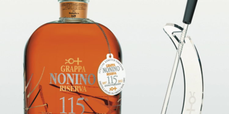 I Distillati del 2013: solo 430 bottiglie per Grappa Nonino Riserva 115th Anniversary