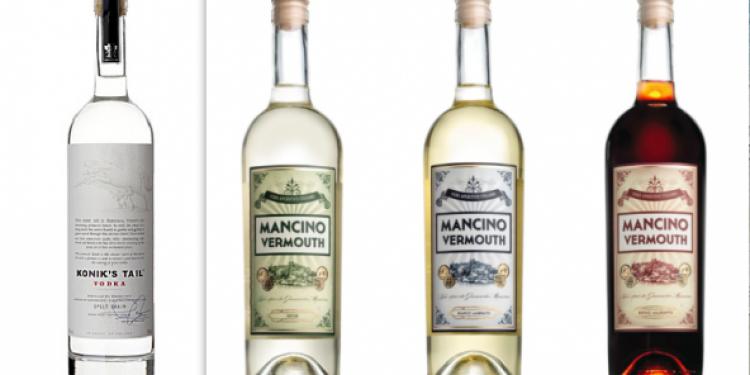 Gaja distribuisce vodka Konik's Tail e Vermouth Mancino