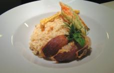 Risottino e tempura per il Müller Thurgau Bottega Vinai di Cavit