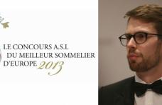 Lo svedese Rosengren è Miglior sommelier d'Europa