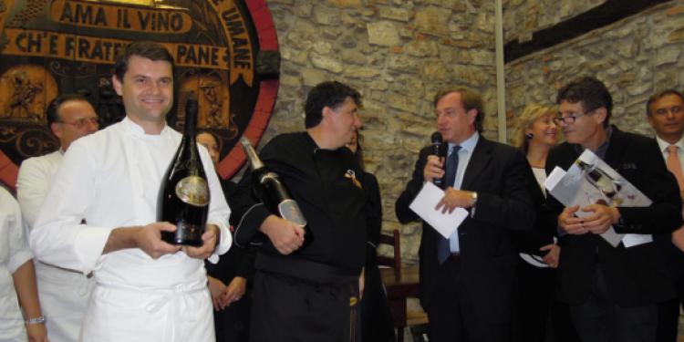 Enrico Bartolini ed Enrico Braghese vincono il X Sparkling menu