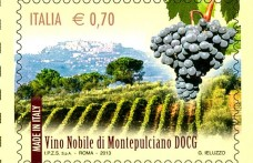 Da Montepulciano il Nobile francobollo