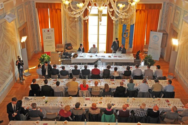 Il tasting dedicato al Merlot nel mondo a Palazzo Piomarta a Rovereto