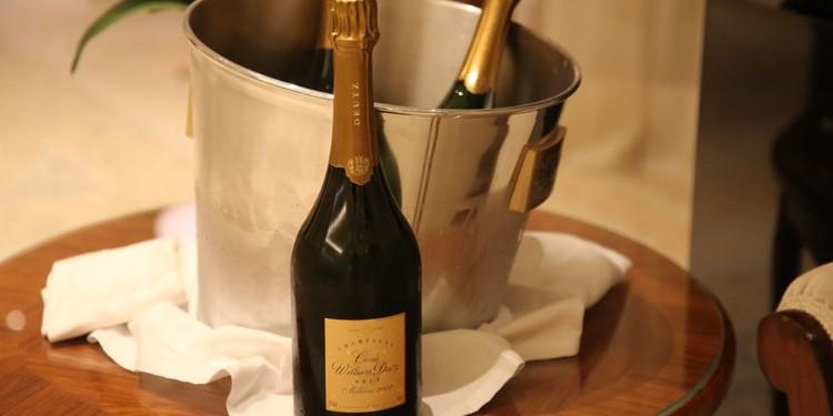 Cuvée William Deutz 2002. L'anteprima milanese