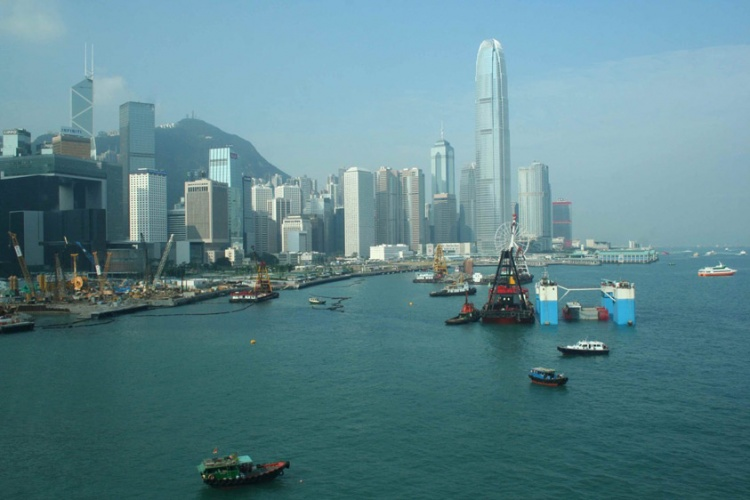 La metropoli di Hong Kong
