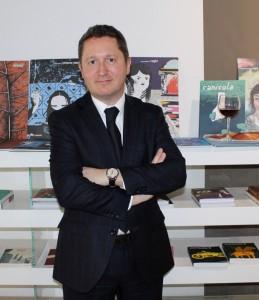 Guillaume Deglise, direttore generale di Vinexpo, alla presentazione milanese dell'edizione 2015
