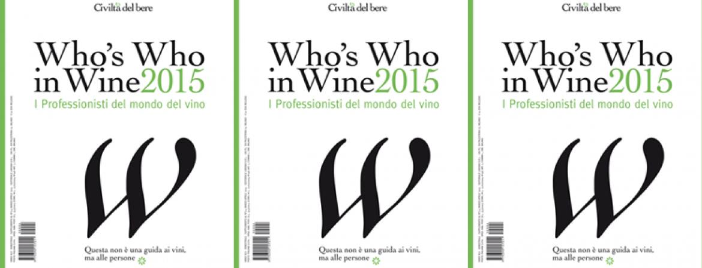 Who's Who in Wine 2015. I Professionisti