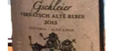 Girlan Gschleier Schiava 2013