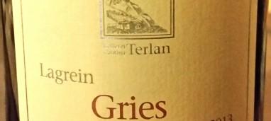 Gries Lagrein Riserva 2013 Cantina di Terlano