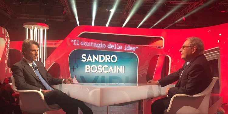 Sandro Boscaini superospite del programma Rai Virus