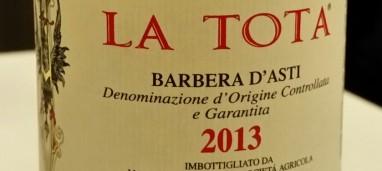 Barbera d'Asti La Tota 2013 Marchesi Alfieri