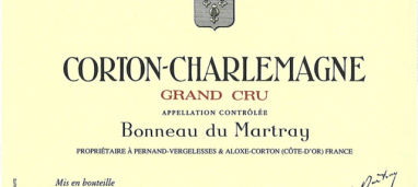Corton-Charlemagne Grand Cru 2006 Domaine Bonneau du Martray