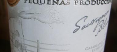 Sauvignon Pequeñas Producciones 2015 Casas del Bosque