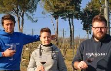 Giovani produttori: alla Tenuta Casali con Silvia, Daniele e Francesco