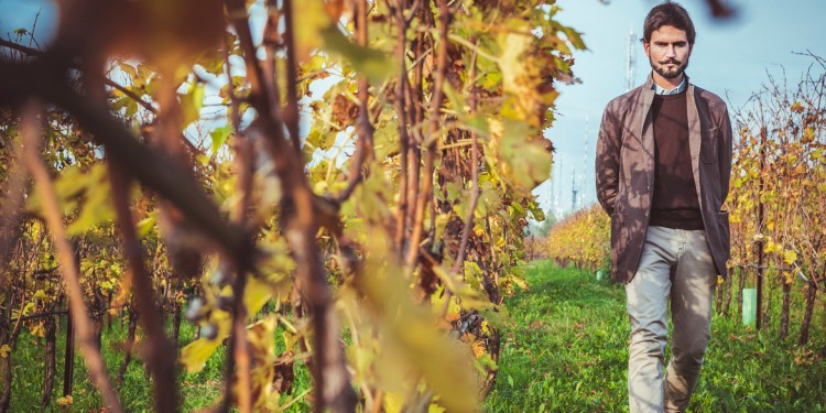 Giovani Produttori. Giovanni Ederle viticoltore a San Mattia