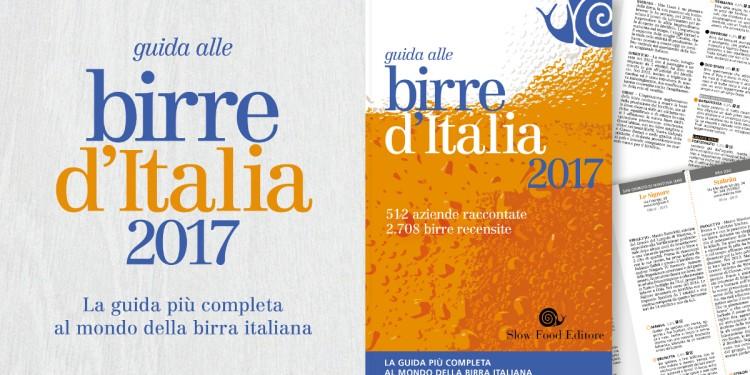 In uscita la Guida alle birre d'Italia 2017 Slow Food