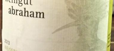 In Der Lamm Pinot bianco 2013 Abraham