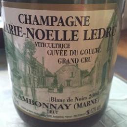 Champagne Marie-Noëlle Ledru 2009