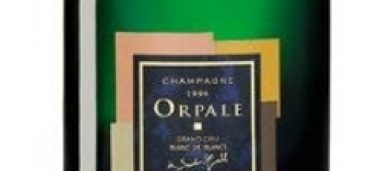 Champagne Orpale Grand Cru 2002 de Saint Gall