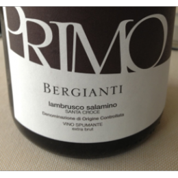 Lambrusco Primo Bergianti 2015 Bergianti Vino
