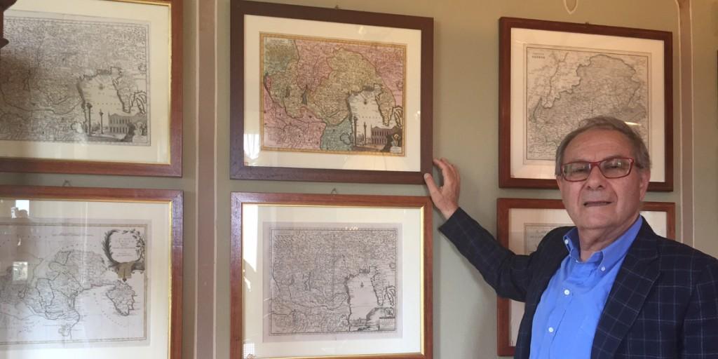 Le passioni di Sandro Boscaini: cartografia e mappe antiche