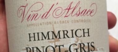 Pinot Gris Lieu-dit Himmrich 2014 Cave de Cleebourg