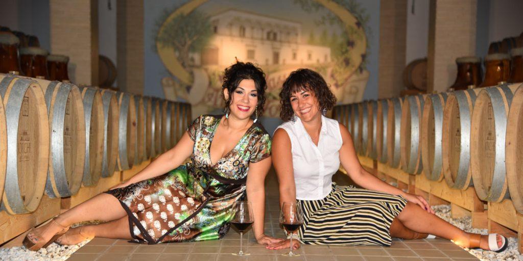 A Masseria Jorche con Dalila ed Emanuela Gianfreda