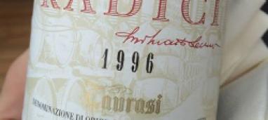 Taurasi Radici Riserva 1996 Mastroberardino