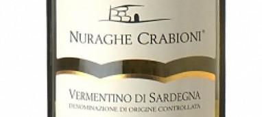 Vermentino di Sardegna 2015 Nuraghe Crabioni