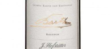Ludwig Barth von Barthenau Vigna Roccolo 2013 Hofstätter