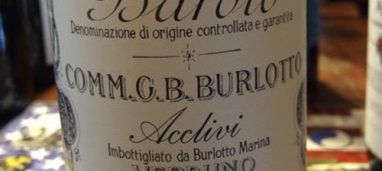 Barolo Acclivi 2013 Burlotto