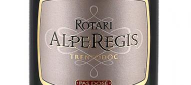 AlpeRegis Trentodoc Pas Dosé 2011 Rotari